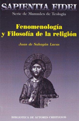 9788479148119: Fenomenología y filosofía de la religión (SAPIENTIA FIDEI)
