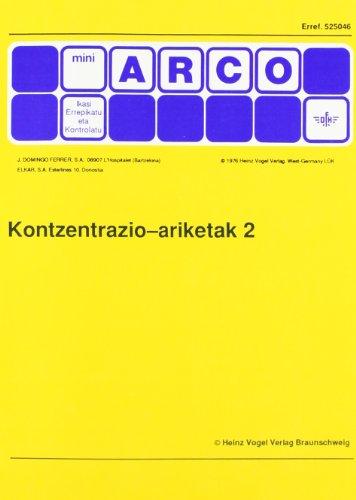 9788479170431: Kontzentrazio ariketak 2 (Mini arco)