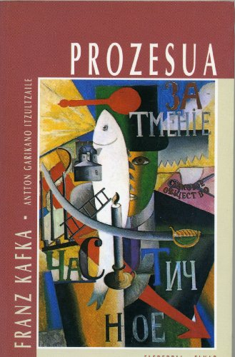 9788479172640: Prozesua (Literatura)