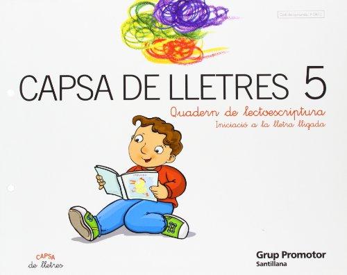 9788479180478: Capsa de Letres 5 Quadern de Lectoescriptura Iniciacio a La Lletra Lligada Catalan Grup Promotor