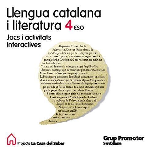 9788479181390: Llengua I Literatura 4 Eso + Cd Catalan Grup Promotor