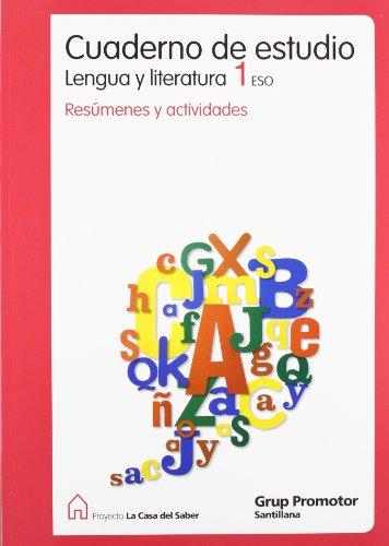 9788479182175: Cuaderno de Estudio Lengua y Literatura 1 Eso Resumenes y Actividades La Casa Del Saber Castellano Grup Promotor