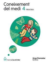 9788479183042: Coneixement Del Medi 4ºep Catalan Casa Saber