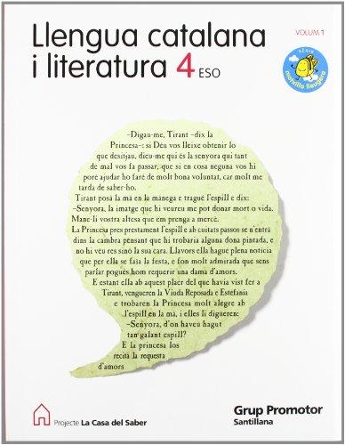 9788479187514: Llengua I Literatura 4Secundaria Catalan - 9788479187514