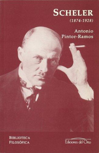 Max Scheler (1874-1928): Pintor-Ramos, Antonio