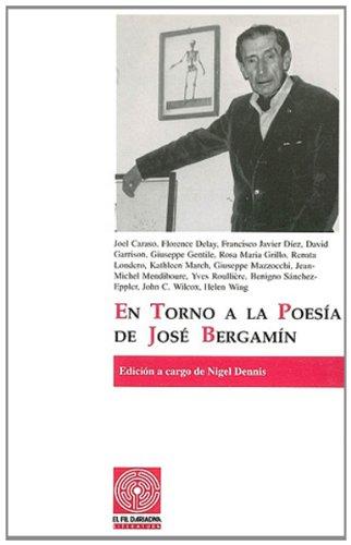 En torno a la poesia de Jose Bergamin (Serie literatura) (Spanish Edition)