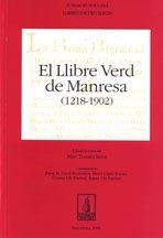 LLIBRE VERD DE MANRESA (1218-1902): VARIOS AUTORES