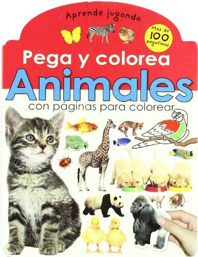 9788479424831: Animales (Pega y colorea)