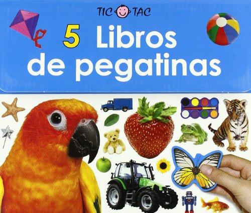 9788479425814: 5 libros de pegatinas (Spanish Edition)