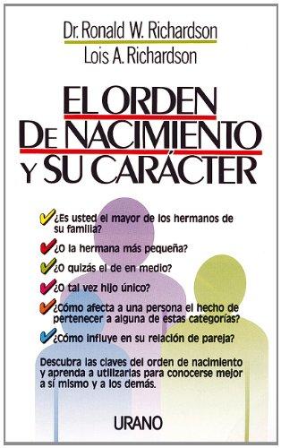 9788479530228: El The Orden de Nacimiento y Su Caracter (Spanish Edition)