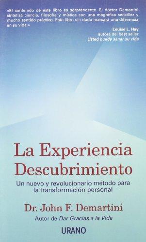 9788479535186: La experiencia descubrimiento (Crecimiento personal)