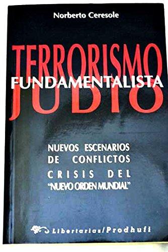 9788479543020: Terrorismo fundamentalista judío