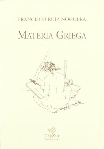 9788479595753: Materia griega