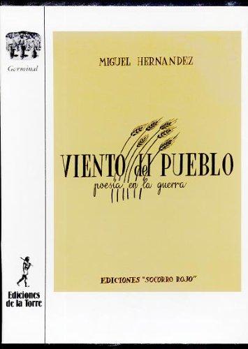 Viento del pueblo (Coleccion Germinal) (Spanish Edition) - Hernandez, Miguel