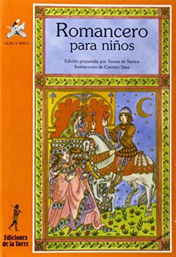 9788479600624: Romancero para niños (Alba y mayo, poesía)