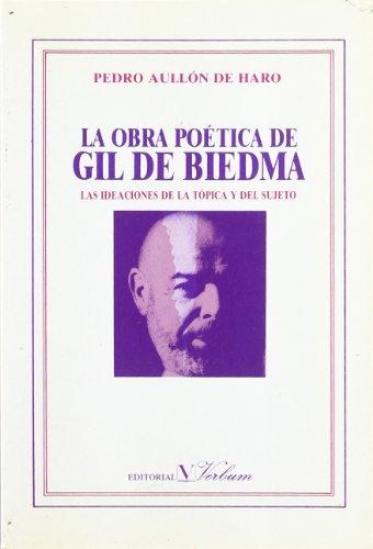 9788479620035: La obra poética de Gil de Biedma (ensayo)