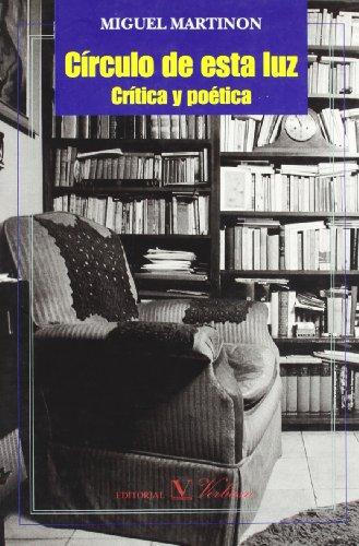 9788479622725: Círculo de esta luz (Spanish Edition)