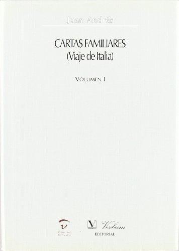9788479623142: Cartas familiares: 1 (Verbum Mayor)
