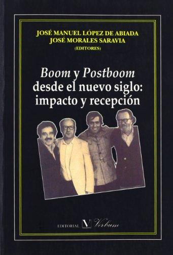 Boom y Postboom desde el nuevo siglo: Jose Manuel Lopez