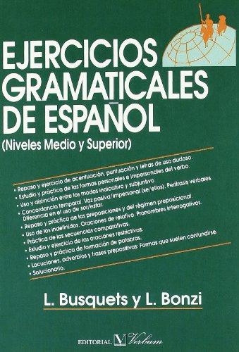 9788479626525: Ejercicios gramaticales de espanol (Spanish Edition)