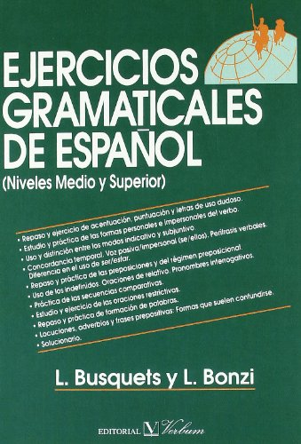 9788479626525: Ejercicios gramaticales de español (Colección Cervantes)