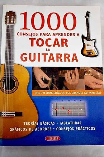 9788479715298: 1000 consejos para aprender a tocar la guitarra