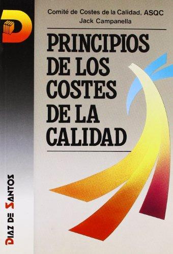 9788479780364: Principios de los costes de calidad
