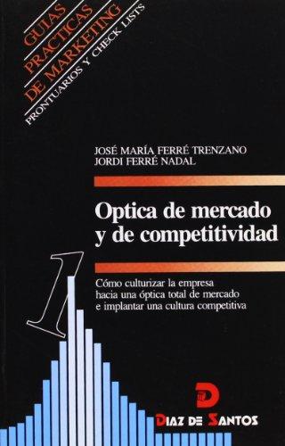 OPTICA DE MERCADO Y DE COMPETITIVIDAD. Cómo: JOSE MARIA FERRE