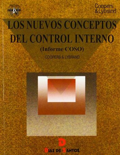 Nuevos conceptos del control interno. informe coso: Coopers & Lybrand.
