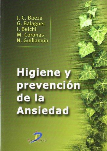 9788479788506: Higiene y prevención de la ansiedad