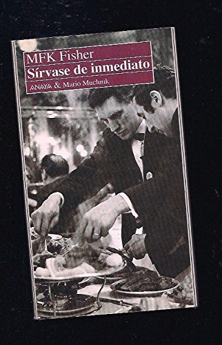 9788479790035: Sirvase de Inmediato (Spanish Edition)