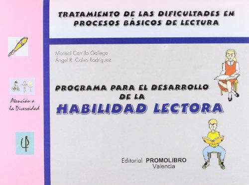 PROGRAMA DESARROLLO HABILIDAD LECTORA - CARRILLO/CALVO