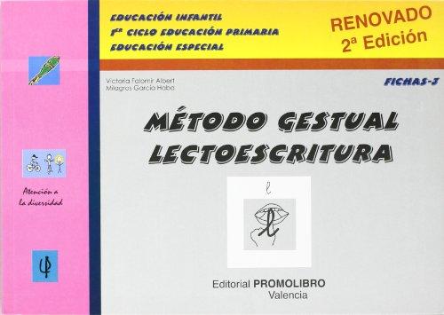 9788479863692: Metodo gestual lectoescritura fichas 3 (Atencion A La Diversidad)