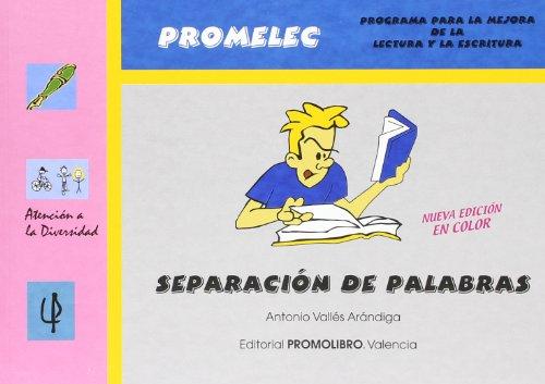 9788479866310: Promolec - separacion de palabras (2ª ed.) (Atencion A La Diversidad)