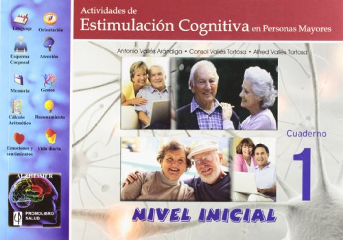 9788479867164: Actividades de estimulación cognitiva en personas mayores : nivel inicial