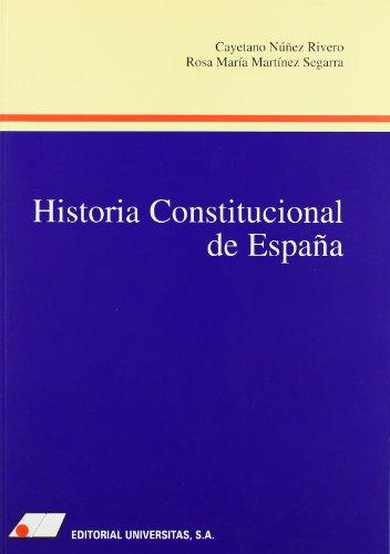 9788479910662: Historia constitucional