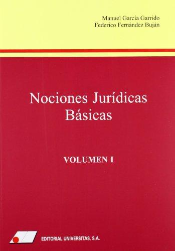 9788479912369: Nociones jurídicas básicas