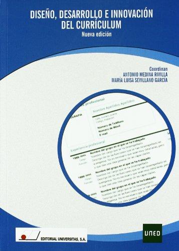 9788479912925: Dise¤o desarrollo e innovaci¢n del curriculum