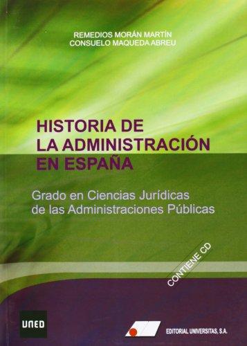 Historia de la administración en España : Maqueda Abreu, Consuelo;