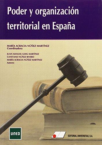 PODER Y ORGANIZACION TERRITORIAL EN ESPAÑA: José María Cayetano