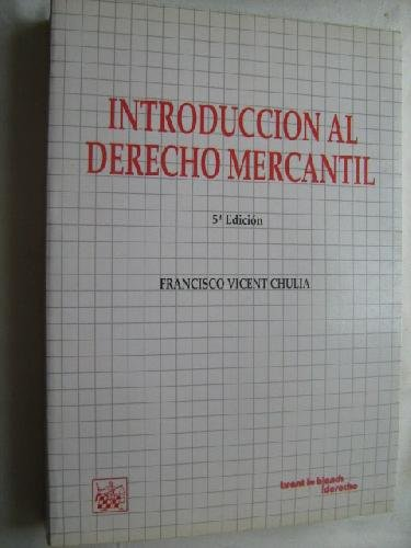 9788480020435: Introducción Al Derecho Mercantil