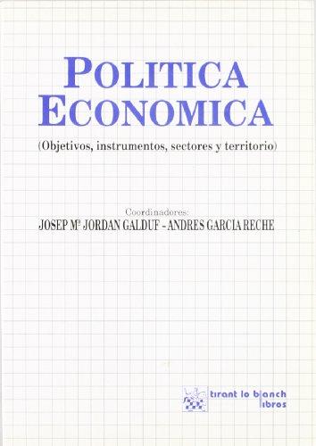 9788480022606: Politica Economica