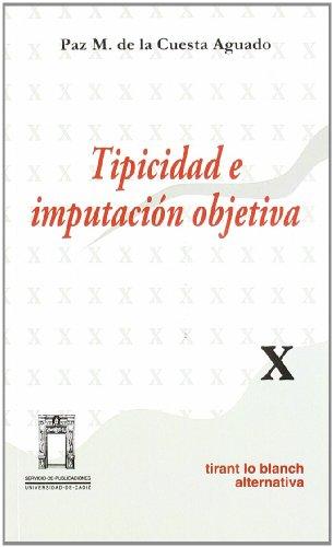 9788480023078: Tipicidad e imputación objetiva