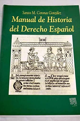 9788480023788: Manual de historia del derecho
