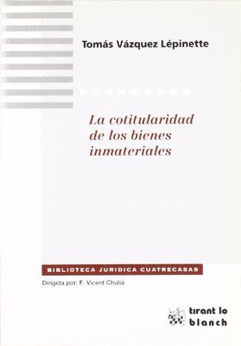 9788480024129: La cotitularidad de los bienes inmateriales
