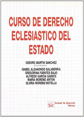 9788480025157: Curso de derecho eclesiástico del estado