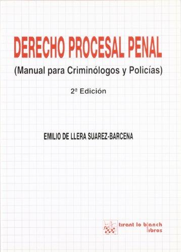 Derecho procesal penal : (manual para criminólogos: Llera Suárez-Bárcena, Emilio