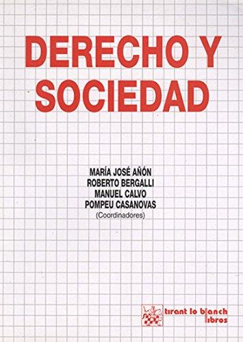 9788480025942: Derecho y sociedad (Spanish Edition)