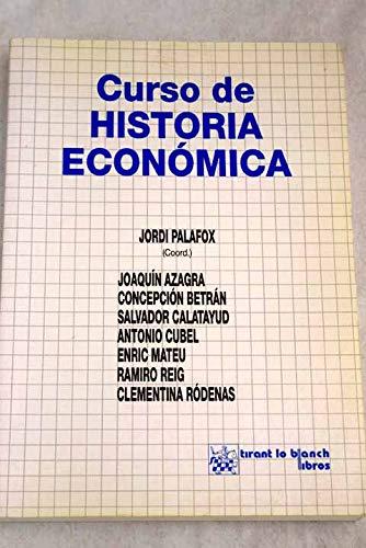 9788480027021: Curso de Historia Economica