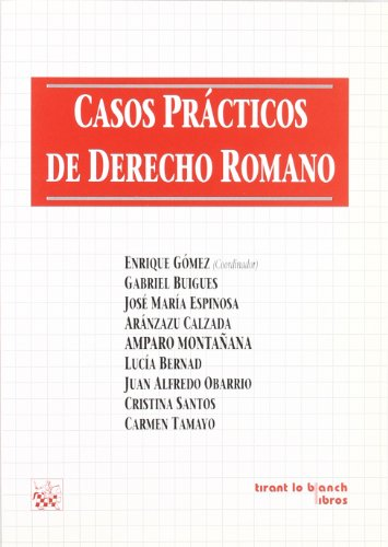 9788480027410: Casos prácticos de derecho romano